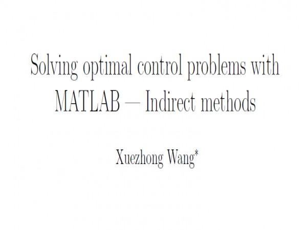 مقاله حل مسائل کنترل بهینه در متلب
